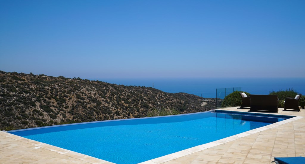 Villa 247 - Soak up the sun and the views by the pool. Aphrodite Hills Resort, Cyprus.