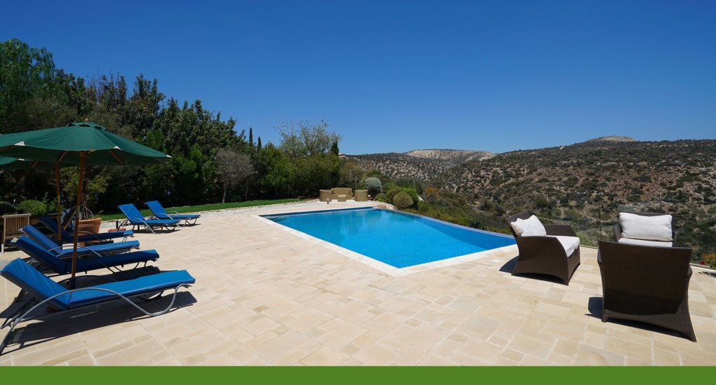 Villa 247 - Fantastic outside space. Aphrodite Hills Resort, Cyprus.