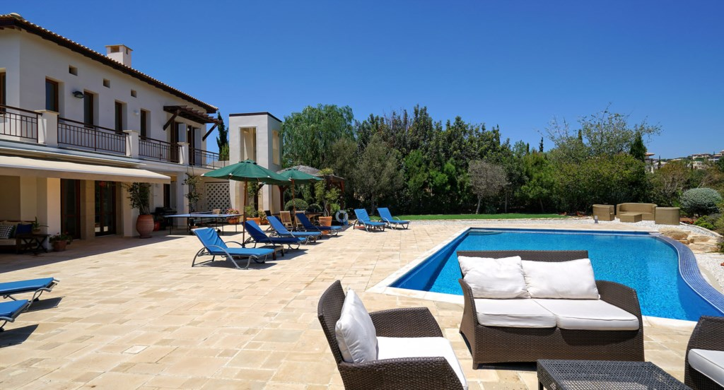 Villa 247 - The perfect holiday villa with wonderful outside space. Aphrodite Hills Resort, Cyprus.