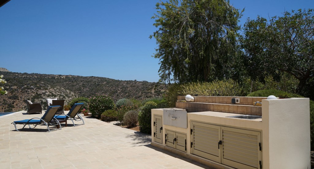 Villa 247 - Complete with gas BBQ and built in BBQ area. Aphrodite Hills Resort, Cyprus.