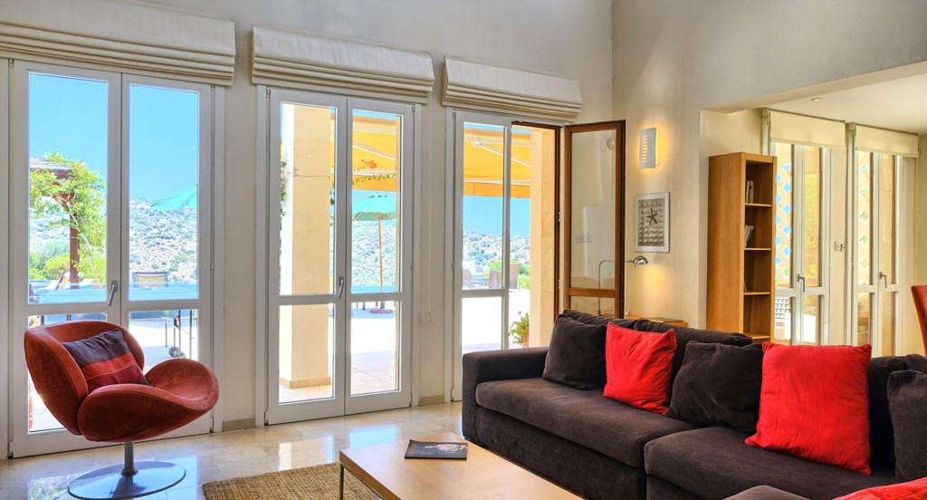 Villa 247 - Kick back and relax in the living area after a day in the sunshine. Aphrodite Hills Reso