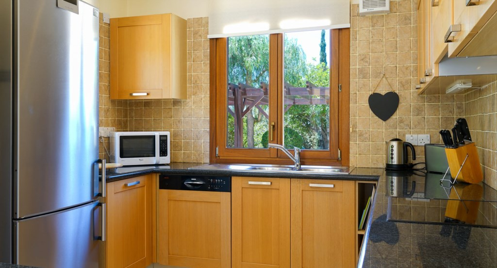 Villa 247 - Modern, full equipped kitchen. Aphrodite Hills Resort, Cyprus.