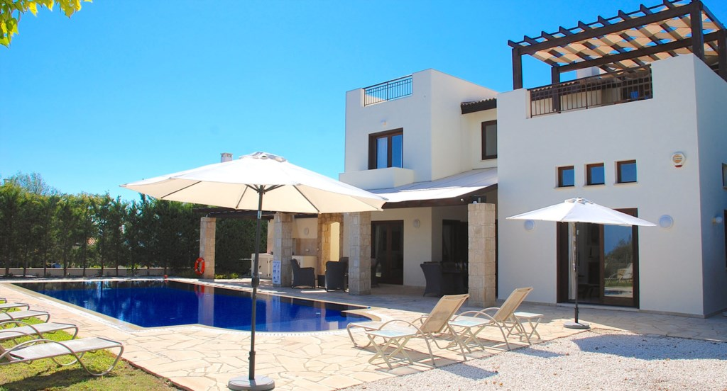 Villa 252 - Gorgeous villa with beautiful outside space. Aphrodite Hills Resort, Cyprus.