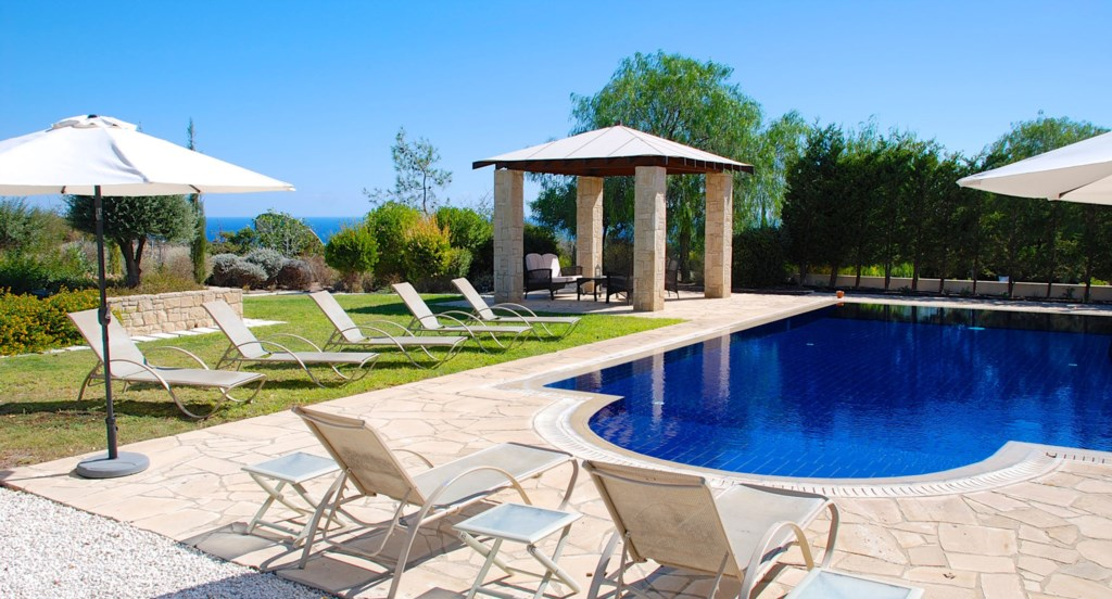 Villa 252 - Kick back, relax and enjoy the sunshine by the pool. Aphrodite Hills Resort, Cyprus.