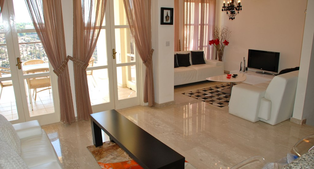 Spacious and open plan living space - G3 Adonis Village - Aphrodite Hills apartment