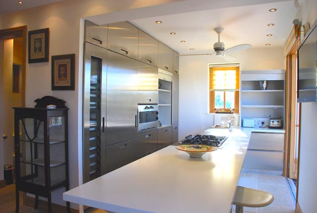 Villa 305 - Bright modern kitchen. Aphrodite Hills Resort, Cyprus.