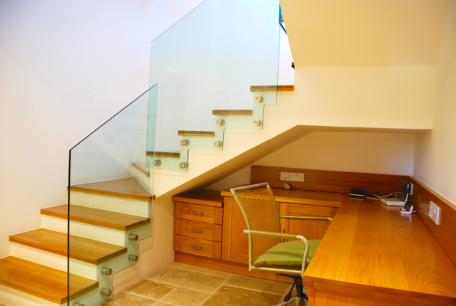 Villa 305 - Office suite at the base of the stairs. Aphrodite Hills Resort, Cyprus.