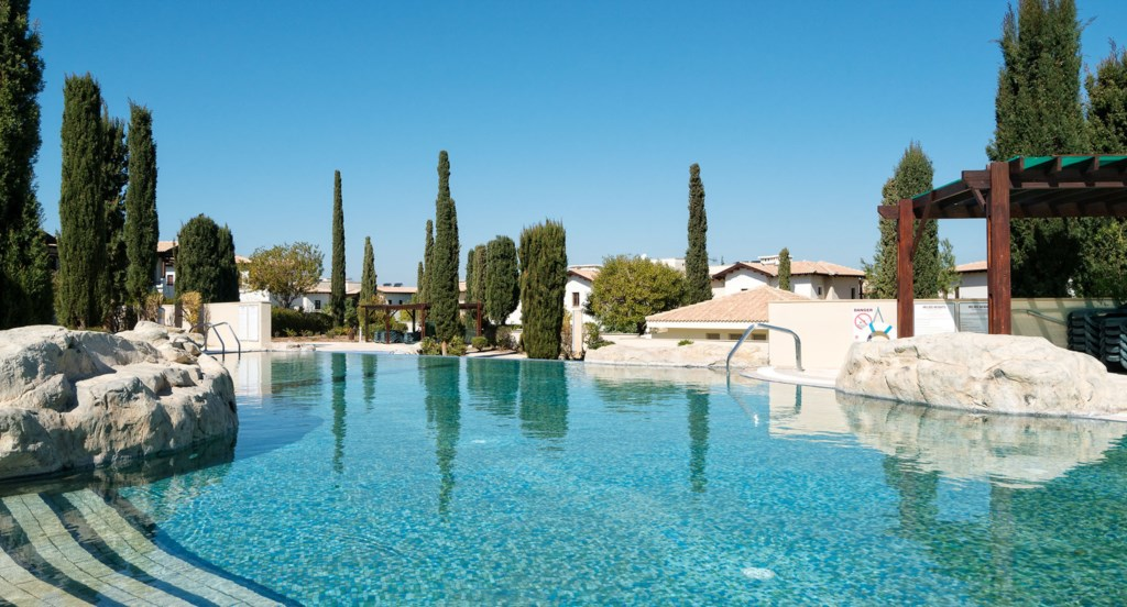 Aphrodite Hills Cyprus Apartment Rental Luxury Holiday Villas Pool View Golf