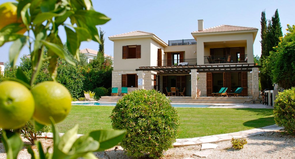 Villa 24 - Luxury holiday villa with private pool and hot tub. Aphrodite Hills Resort, Cyprus.