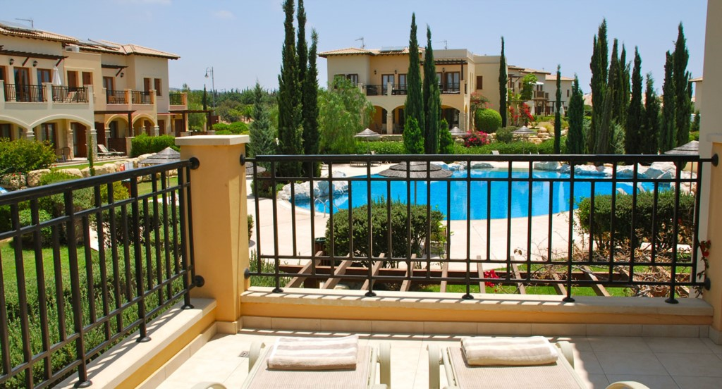 Luxury Holiday Villa Rental Villas Aphrodite Hills Cyprus Pool View Golf