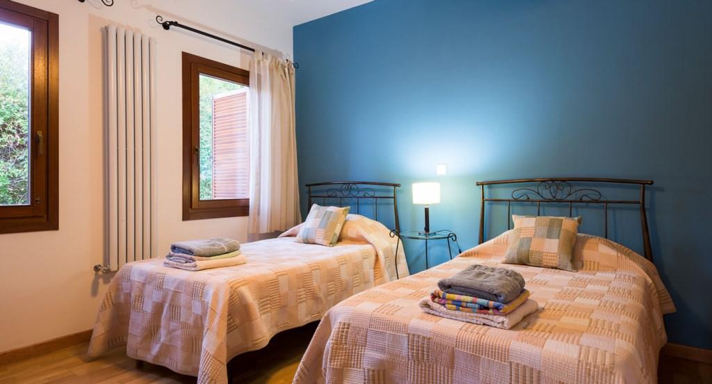 Villa Anthos - Beautiful blue twin room