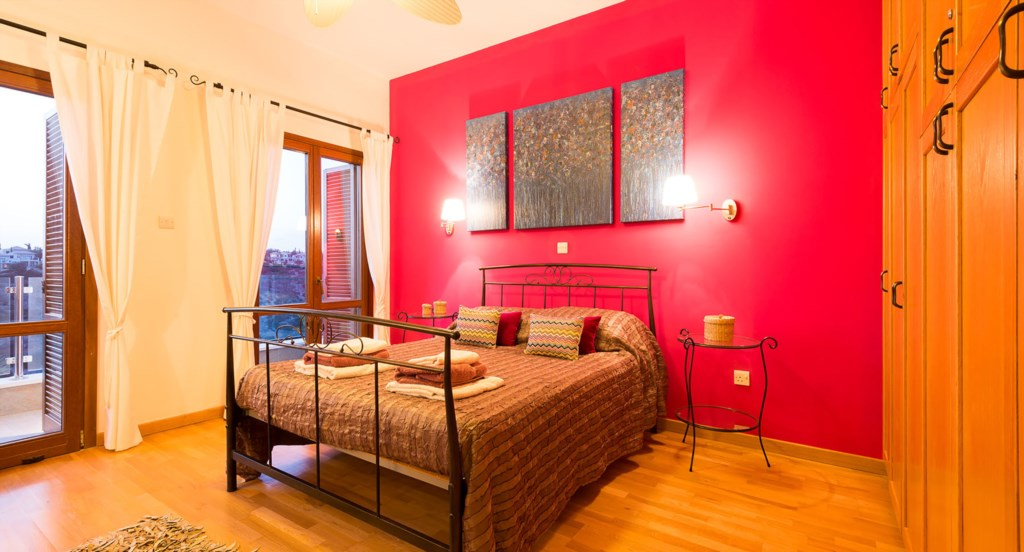 Villa Anthos - every bedroom is decorated uniquely