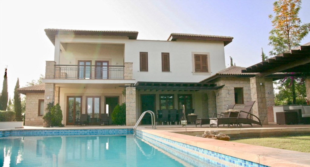 Villa 230 - Villa with private pool for rental - stunning views. Aphrodite Hills Resort, Cyprus.