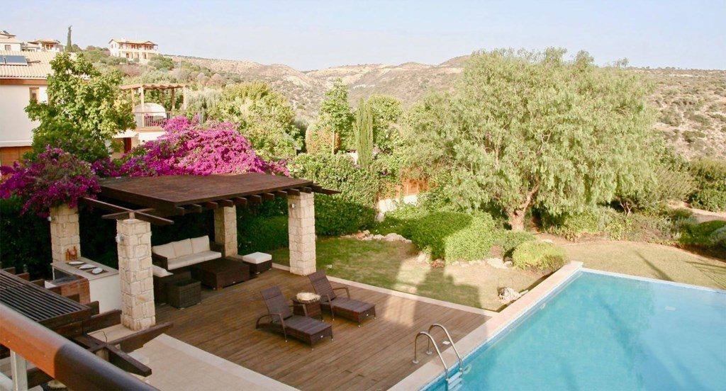 Villa 230- Gorgeous sea views from your private pool. Aphrodite Hills Resort, Cyprus.