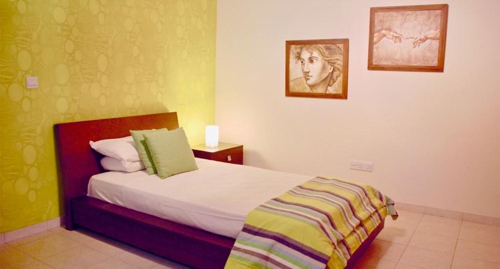 Villa 230 - Single bedroom with ensuite bathroom. Aphrodite Hills Resort, Cyprus.