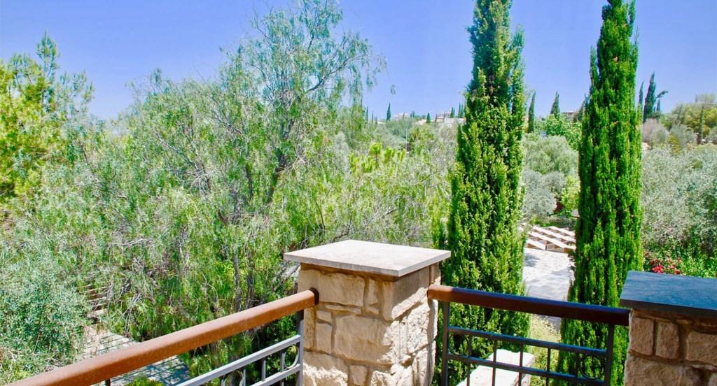 Villa 230 - Single bedroom balcony view. Aphrodite Hills Resort, Cyprus.