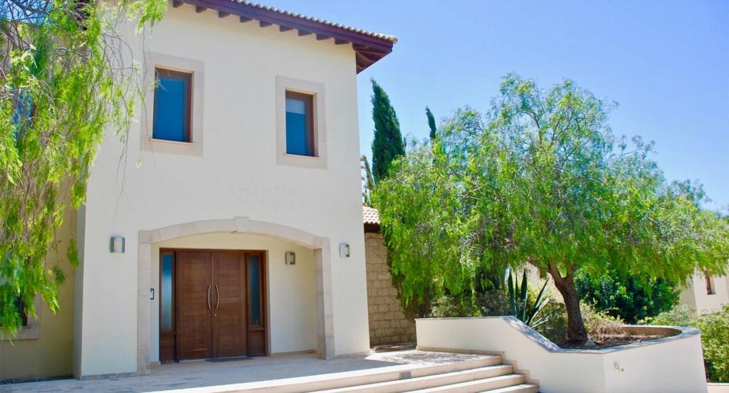 Villa 230 - Front Entrance. Aphrodite Hills Resort, Cyprus.