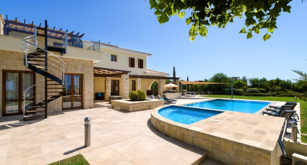 Villa 350 - Luxury at its best; stunning interiors and exteriors. Aphrodite Hills Resort, Cyprus.