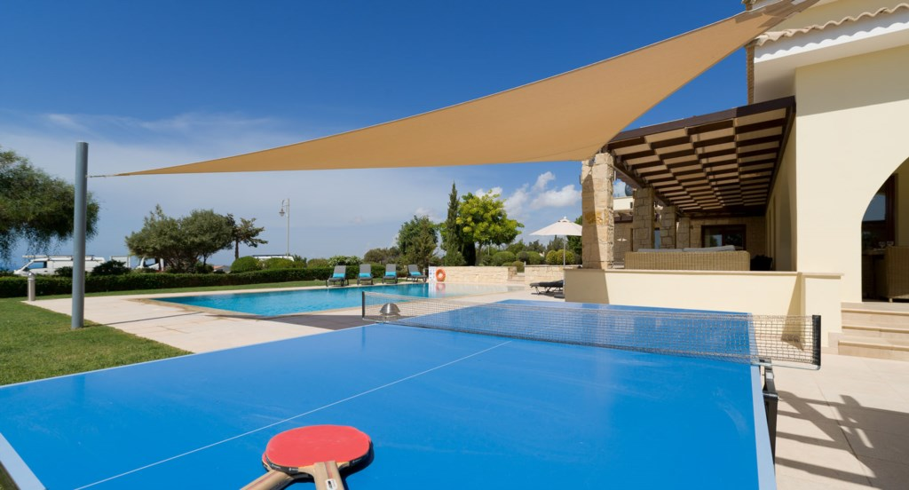 Villa 350 - Complete with BBQ, table tennis and basketball.  Aphrodite Hills Resort, Cyprus.