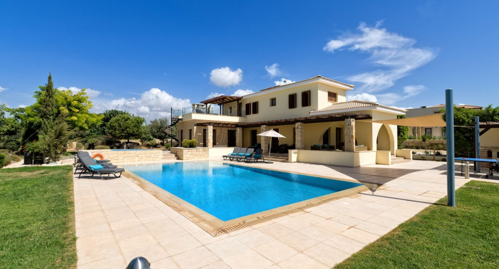 Villa 350 - Amazing outside facilities.  Aphrodite Hills Resort, Cyprus.