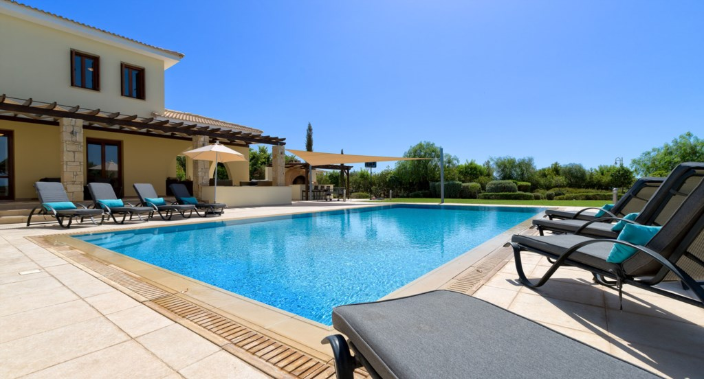Villa 350 - Kick back and relax by the pool. Aphrodite Hills Resort, Cyprus.