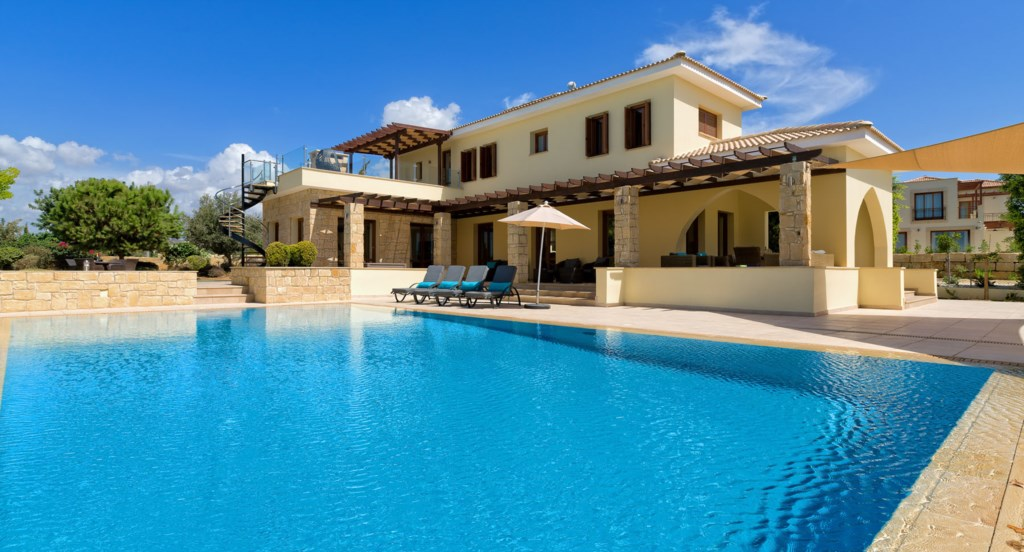 Villa 350 - Cool off from the sun in your own private pool. Aphrodite Hills Resort, Cyprus.