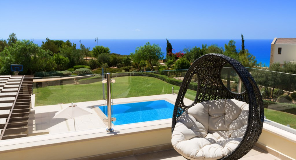 Villa 350 - Plenty of space to enjoy the views from. Aphrodite Hills Resort, Cyprus.