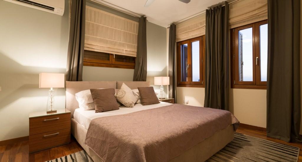 Villa 350 - Stunning Master Bedroom.  Aphrodite Hills Resort, Cyprus.