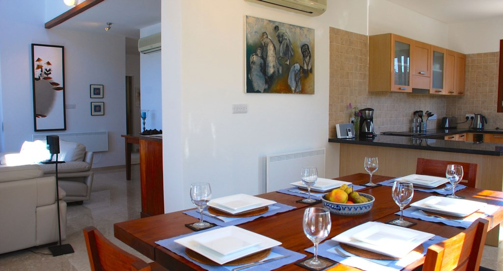 Villa 122 - Lovely dining area for family meals. Aphrodite Hills Resort, Cyprus.