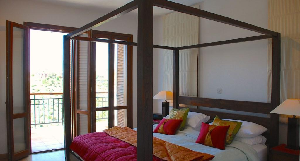 Villa 122 - Stunning master bedroom. Aphrodite Hills Resort, Cyprus.