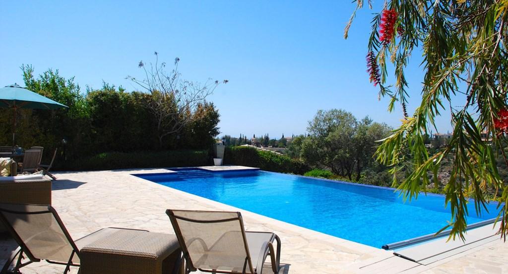 Villa 122 - Lay back, relax, enjoy the views.  Aphrodite Hills Resort, Cyprus.