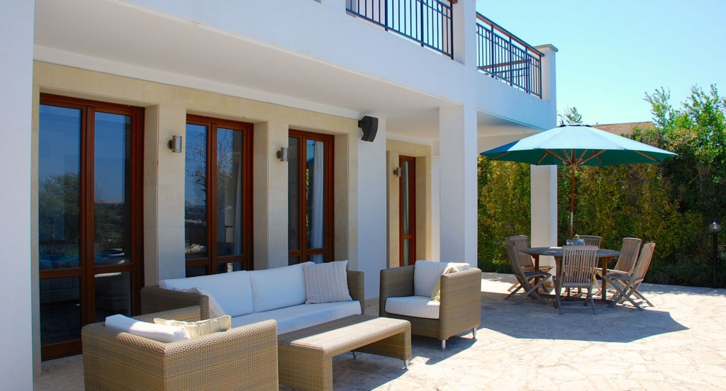 Villa 122 - Great outdoor space.  Aphrodite Hills Resort, Cyprus.