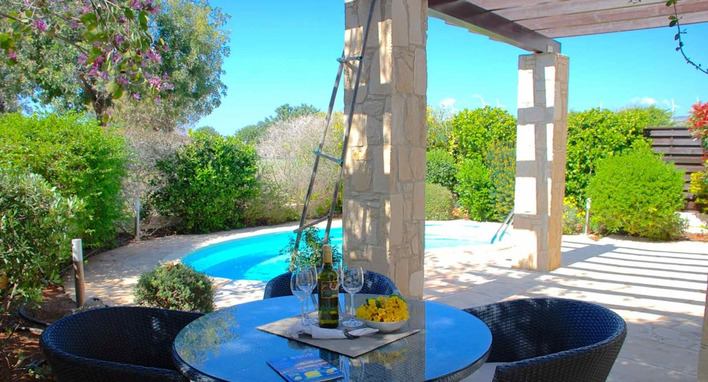 Villa Omodos (HG14), 3 bedroom villa with private pool on luxury holiday resort, Aphrodite Hills Res