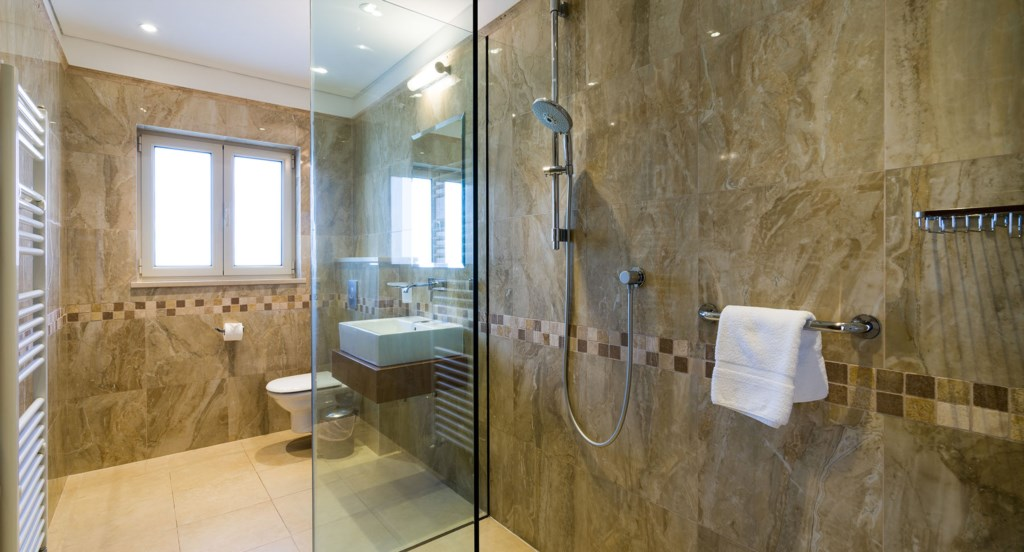 Bathroom - Villa 141 - Luxury Holiday Rentals in Aphrodite Hills Cyprus