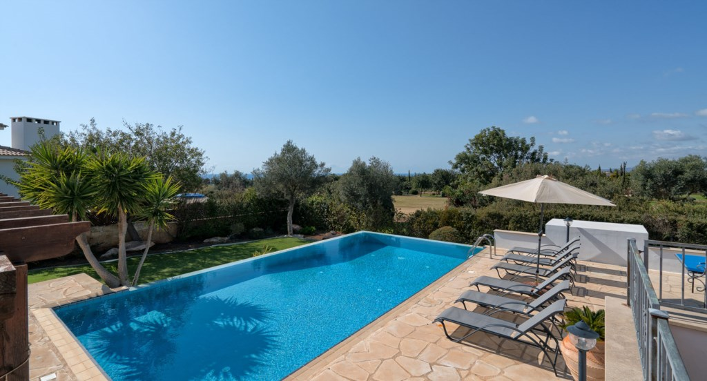 Villa 395 - Beautiful outlook in peaceful location. Aphrodite Hills Resort, Cyprus.