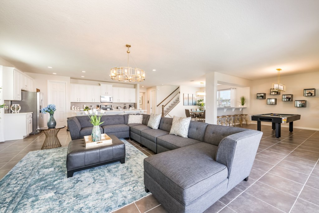 Luxury 9 bedrooms home with games room