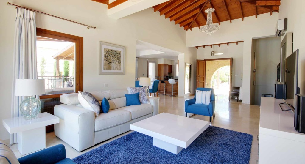 Villa Varvara (44), 4 bedroom luxury holiday villa with private pool, hot tub, Aphrodite Hills Resor