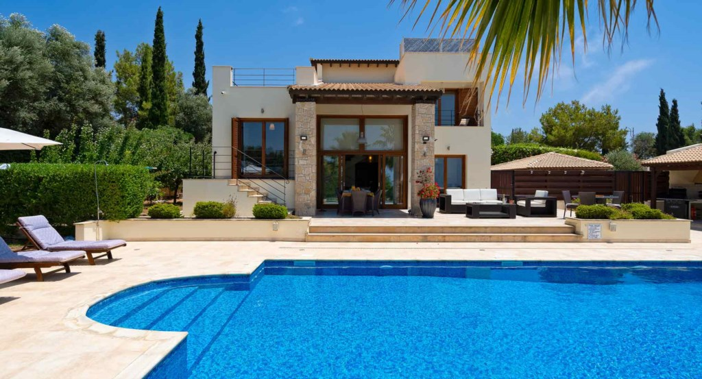 Villa Lofou (ref 148), stunning holiday rental villa, golf sea views, Aphrodite Hills Resort, Cyprus