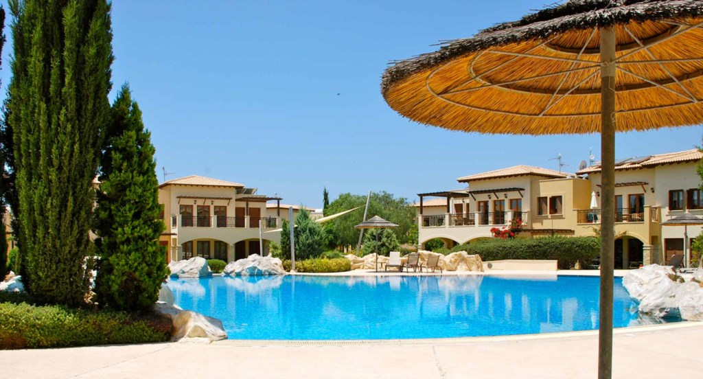 Apartment Pyrgos (CC12), luxury holiday one bedroom apartment Aphrodite Hills Resort, Cyprus