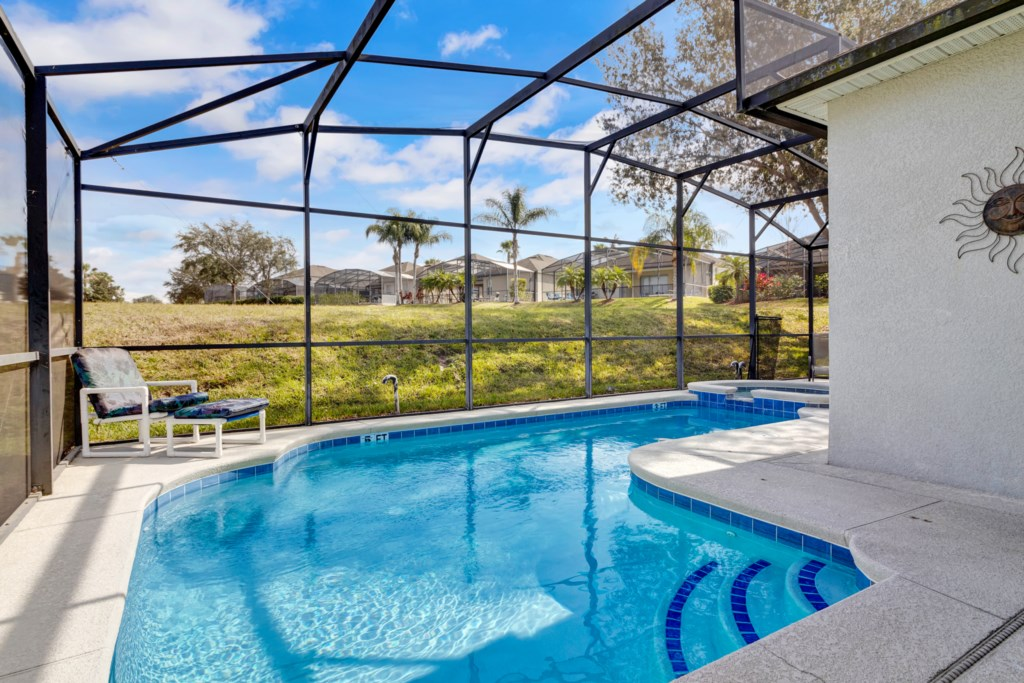 Ctl414 Disney Towers- 4 Bedroom Pool/ Spa And Game