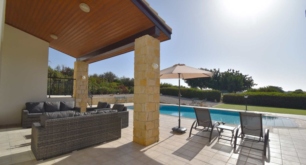 Luxury holiday villa on Aphrodite Hills Resort, Cyprus.