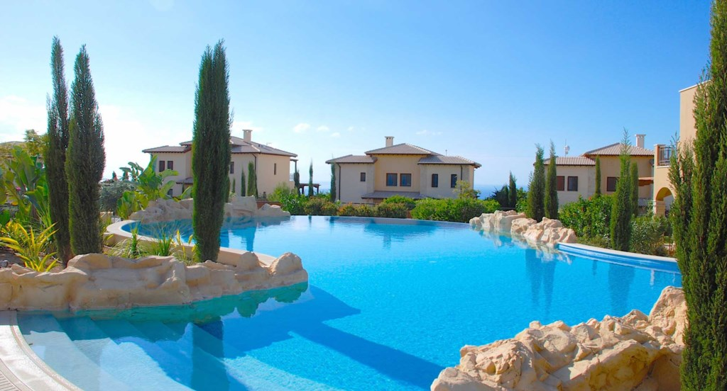 Private holiday rental villa on Aphrodite Hills Resort, Cyprus
