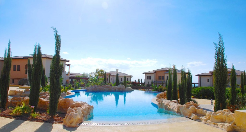 Private holiday villa on Aphrodite Hills Resort, Cyprus