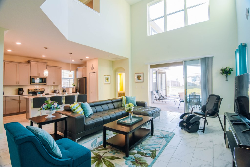 Stunning 5 Beds Pool Homefree Grill !/Waterview