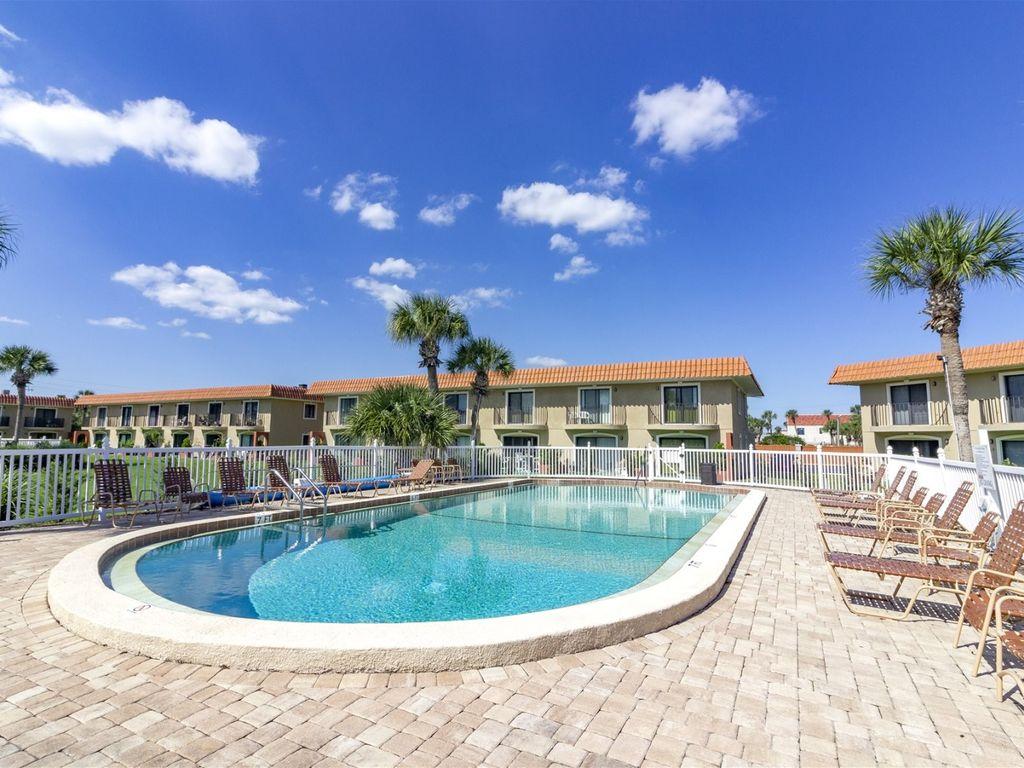 Poolside at St. Augustine Beach