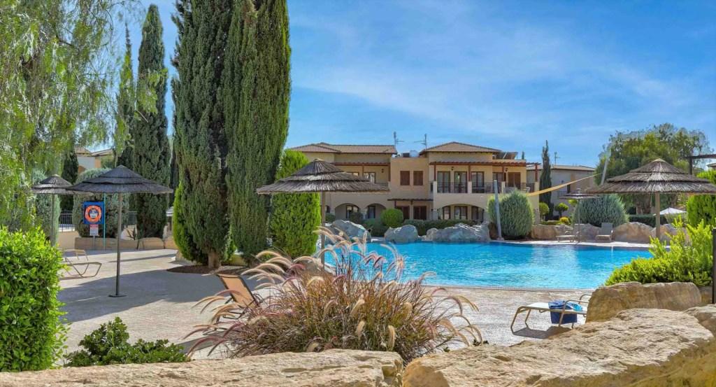 22. Luxury holiday apartment Aphrodite Hills Resort Cyprus_Pool Area.jpg