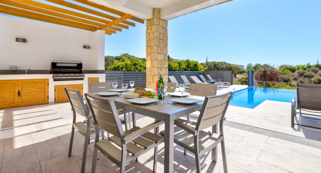 Villa Roudias, luxury holiday villa, Aphrodite Hills Resort, Cyprus