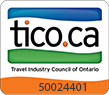 Licensed by the Travel Industry Council of Ontario