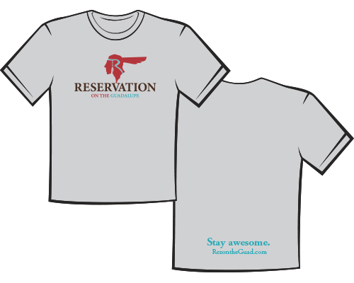 Gray Reservation on the Guadalupe Tshirt