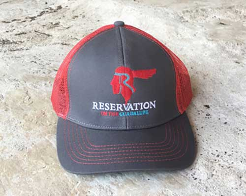 Reservation on the Guadalupe hat